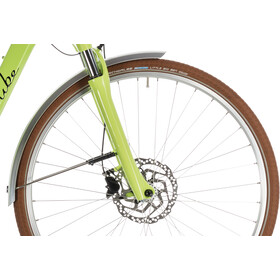Cube Elly Ride Hybrid 400 E-citybike Easy Entry grøn